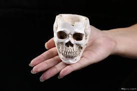 halloween ceramic molds 2017 small human head skull flower pots ashtray garden theme