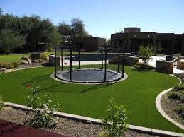 Landscaping Ideas For Backyards by Best 20 Backyard Trampoline Ideas On Pinterest Ground