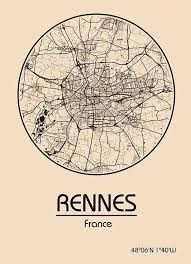 rennes map the 25 best maps rennes ideas on dyi crafts