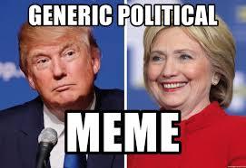 Political Meme Generator - generic political meme election year stupidity meme generator
