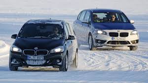 bmw 2 series active tourer seven seater spied winter testing