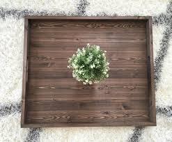 ottoman trays home decor rustic wooden ottoman tray ottoman tray wooden tray rustic