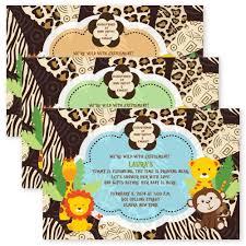 monkey theme baby shower invitation ideas registaz