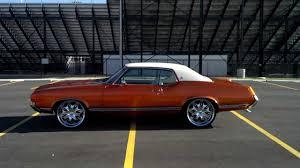 Muscle Car Rims - 71 cutlass show car 22 inch rims dayton ohio 68 69 70 72 350 455