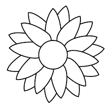 28 flowers print flower face colouring pages flower