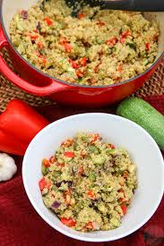 Roasted Vegetable Recipe by Roasted Veggie Quinoa Pilaf Colorful Recipes
