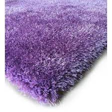 Lavender Area Rugs Rug Factory Plus Shaggy Viscose Solid Collection Lavender Shag