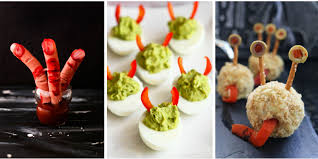 40 easy halloween appetizers recipes u0026 ideas for halloween hors