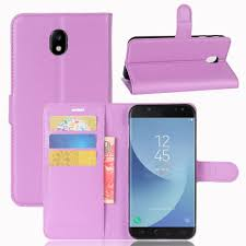 Samsung J7 Pro Samsung Galaxy J7 Pro Wallet Leather Cover Purple