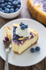 white chocolate blueberry cheesecake baker by nature