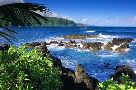 wall ideas hawaii wall art hawaiian island wall art hawaii blue