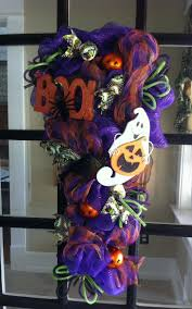 Deco Mesh Halloween Wreath Ideas by 75 Best Halloween Swags Images On Pinterest Halloween Crafts
