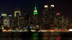 fresh new york skyline by night 3485