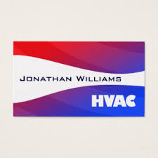hvac business cards u0026 templates zazzle