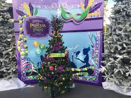 christmas tree trail disney springs 2016 princess and the frog