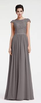 sleeved bridesmaid dresses modest charcoal grey bridesmaid dresses cap sleeves charcoal