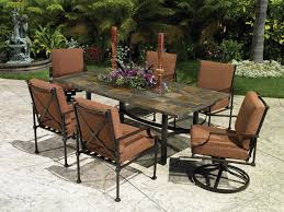 Patio Furniture Wrought Iron Dining Sets - decor comfortable outdoor cushion covers for outstanding exterior