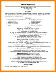 warehouse worker resume warehouse worker resume template when sending a resume email resume