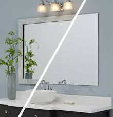 Frame Bathroom Mirror Kit by Mirror Mate Bathroom Traditional With Mirror Frame Kit Green