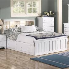 bedroom queen storage bed with bookcase headboard twin beds
