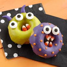 monster chomper halloween donuts wilton