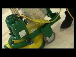 igel hedgehog milling drum swapping on a lagler hummel floor