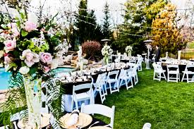 beautiful backyard wedding ideas decorating of party