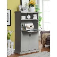 Gray Office Desk Gray Desks Home Office Furniture The Home Depot
