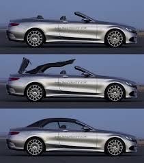 mercedes s class cabriolet 2015 s class cabriolet a217 rendering looks spot on autoevolution