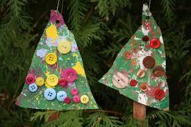 button christmas tree ornaments happy hooligans kid u0027s xmas craft