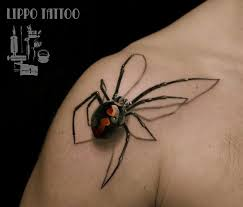 3d spiderman tattoo on tongue real photo pictures images and