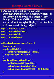1 more on applets overview l changing colors l changing fonts