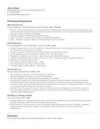 Sample Resume For Medical Representative by Résumé Tips U2013 Biosource Staffing