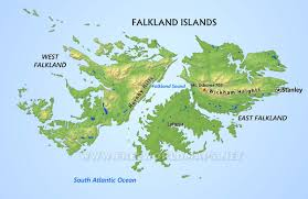 Sound Map Falkland Islands Map