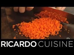 terme de cuisine que signifie le terme brunoise ricardo cuisine