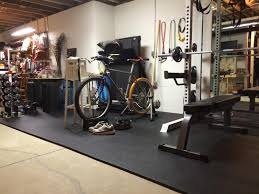 exercise room flooring pebble top foam tiles