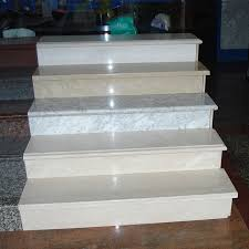marble stairs china cream beige marble stairs polished flat edge competitive price