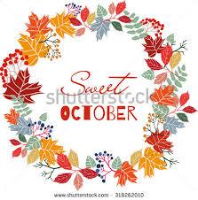 autumn wreath vector autumn wreath free vector stock graphics