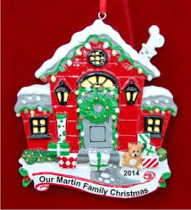 home sweet home personalized ornaments by