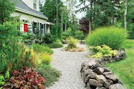 Bush Rock Garden Edging Landscaping With Gravel Sunset Magazine