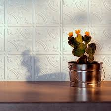 Fasade Kitchen Backsplash Panels Amazon Com Fasade Easy Installation Traditional 1 Gloss White