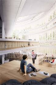 narchitects wins shanghai library competition envisioning a