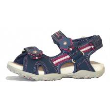 ss12 girls roxanne sandals in navy from dinky shoes uk