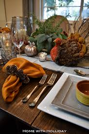 Fall Table Settings Casual Fall Table Setting Home With Holliday