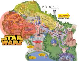 Universal Park Map Disney Hollywood Studios Changes Could Add More Star Wars Pixar