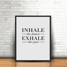 Cheap Stoner Room Decor by Online Get Cheap Inhale Exhale Print Aliexpress Com Alibaba Group