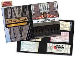 ticket stub album theater ticket album a photo album designed to hold ticket stubs