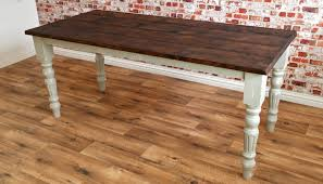 rustic farm dining table rustic farmhouse french dining table with fluted legs
