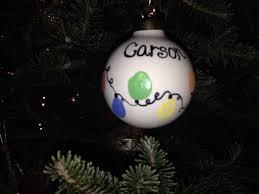 kids ornaments fingerprints christmas lights my diy crafts