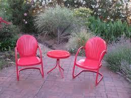 retro patio furniture home design
